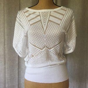 WHBM White top Size S